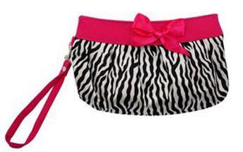 KOSMETICKÁ TAŠTIČKA Zebra v růžové, hnědé nebo bílé barvě! Praktická kabelka na vaše líčidla a šminky