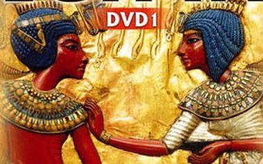 """99 Kč za dokumentární sérii 3 DVD """"NEJVĚTŠÍ VLÁDCI EGYPTA""""! Odhalte tajemství, záhady a symboly starověkého EGYPTA"""