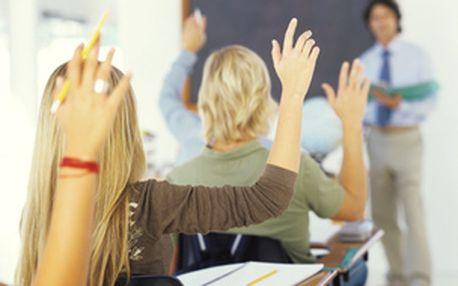 Pomaturitní studium angličtiny 2012/2013