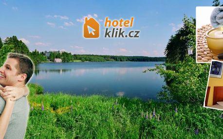 3 - denní pobyt s polopenzí pro dva u rekreačního rybníku Medlov!