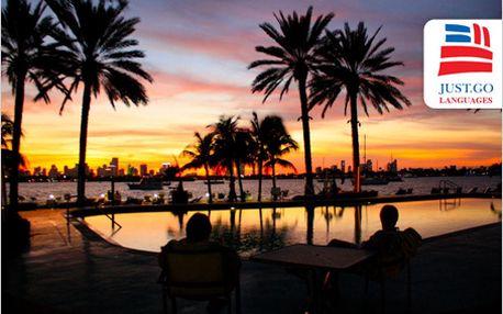 Naučte se plynule anglicky na slunných plážích Miami během jediného měsíce!