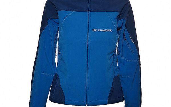 Dámská azurově modrá softshellová bunda Trimm Katanga