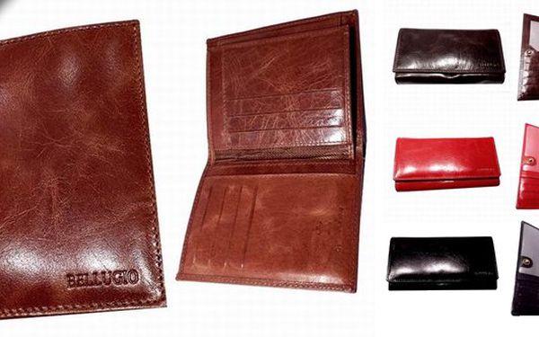Velmi kvalitní Italské peněženky světoznámé značky Bellugiose slevou 50%. Možnost výběru z mnoha barev a vzorů. Kvalitní kožená peněženka je jistě i velmi vhodný dárek. Každá peněženka je v luxusní dárkové krabičce. Peněženka od Bellugio se jistě stane Vaším oblíbeným doplňkem a kvalitním společníkem.