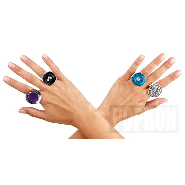 Sada prstenů, 4 kusy