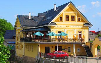 Gurmánské babí léto v hotelu ***TTC ve Vrchlabí pro 2 osoby