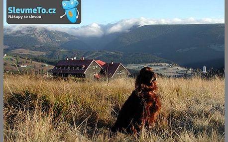 Pobyt na horách pro 2 dospělé osoby a až 2 děti do 10 let na 2 noci/3 dny na Vraní boudě se snídaní! Pec pod Sněžkou, Vraní bouda v nadmořské výšce 1095m, výhled na Sněžku, Studniční horu a Obří důl! Sleva 56% na pobyt. Panenská příroda v Krkonoších, možnost výletů, relaxu i zábavy! Vybrané termíny v září 2012!