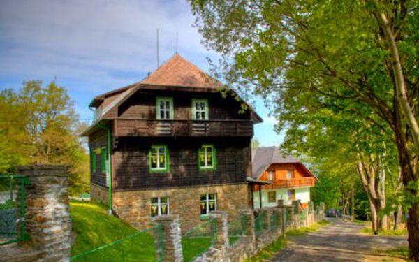 3denní pobyt až pro 6 osob! Užijte si s partou nádherný pobyt a krásnou Šumavskou přírodu!