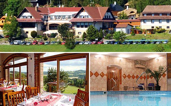 Třídenní pobyt s polopenzí pro 2 osoby s thajskou masáží v oblíbeném hotelu Podlesí na Vysočině za 3200 Kč. Ubytování pro 2 osoby na 2 noci, denně snídaně a večeře, láhev sektu, thajská masáž, vstup do vnitřního bazénu, prohlídka Pohádkové vesničky.