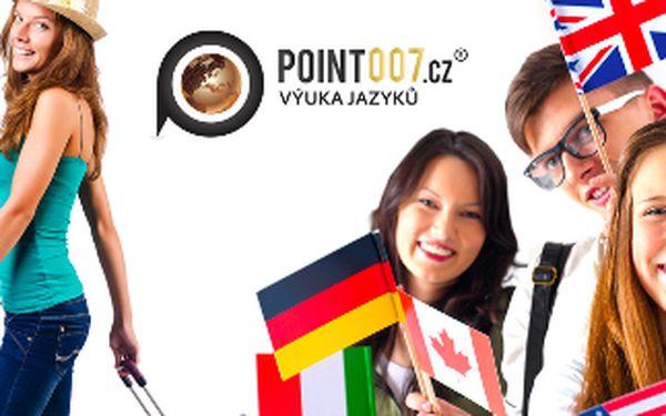 Kurz ANGLIČTINY, NĚMČINY nebo třeba RUŠTINY? V Point 007 Vás naučíme cizí jazyk za léto! Kurz má 48 vyučovacích hodin a probíhá v centru Prahy na Florenci! Vybírejte ze všech světových jazyků jen za 3888 Kč! Sleva 73%!