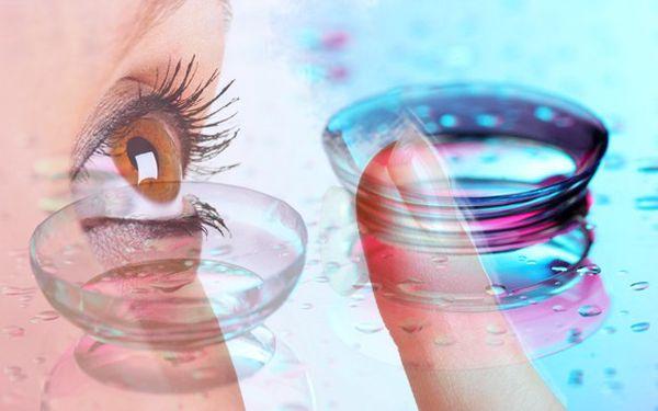Barevné kontaktní čočky s 39% slevou
