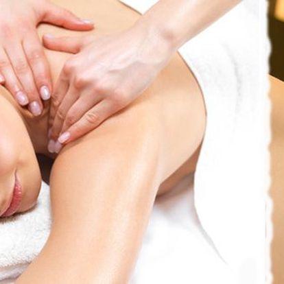 Vyberte si jednu ze čtyř druhů masáží a dopřejte si ten opravdový relax na dobu 60 min.