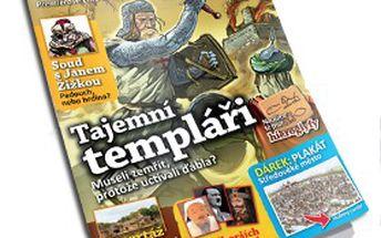 PŘEDPLATNÉ časopisu ČASOSTROJ pro rok 2012 včetně poštovného! Zábavný a interaktivní magazín pro MALÉ HISTORIKY