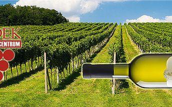 Dárkové balení oblíbených vín v dřevěném boxu z vinařství Sádek!