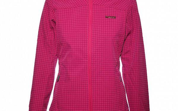 Dámská růžová softshellová bunda Envy s potiskem