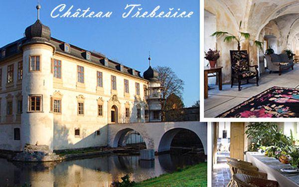 Romantická dovolená pro DVA na zámku Třebešice
