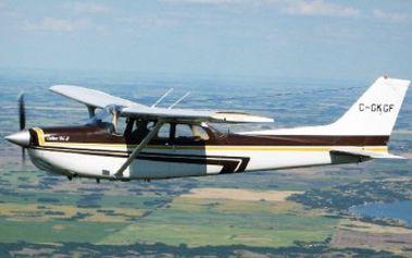 Let Cessnou 172 RG s instruktáží!