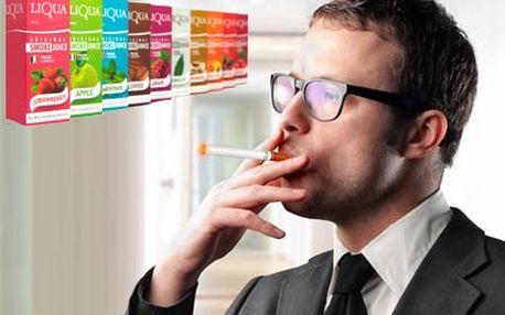 10 ks kvalitních e-liquidů! Zakupte si náplň do své e-cigarety za super cenu! Různé příchuťe.