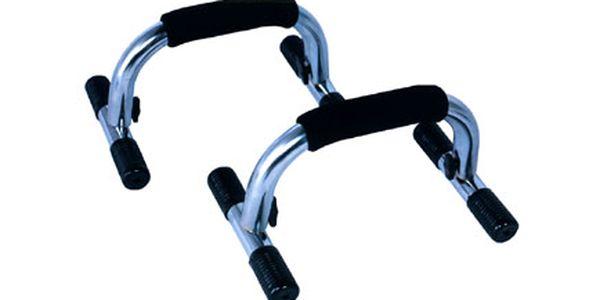 S podpěrami na kliky Push up Bar si můžete snadno a rychle zformovat tělo!! Nyní jen za 599 Kč!!