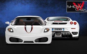 Skvělých 999 Kč za 30minutovou JÍZDU v bouráku jako je Ferrari, Lamborghini, Porsche nebo Mustang. Sleva až 86 % na PROJÍŽĎKU V AUTĚ SNŮ u Mnichova Hradiště!