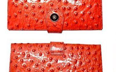 Pro dámy: módní kožená peněženka hassion z kvalitní hovězí kůže + zdarma dárková krabička!
