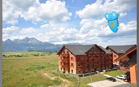 Vysoké Tatry, luxusní ubytování, 6 osob, 3 dny, apartmán v Tatragolf Mountain Resorts**** Slovensko! Komfortní ubytování v nově vybudovaných apartmánových domech ve Velké Lomnici. Areál je v blízkosti golfového hřiště. Sleva na pobyt 60%!