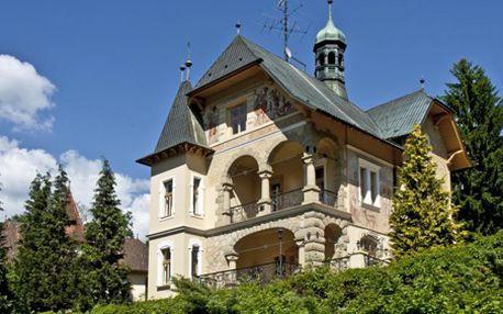 3, 4 i 6 – denní exkluzivní pobyt pro dva ve vládní vile Luhačovice!