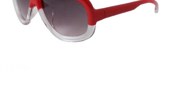 Millionaire Sluneční brýle Millionaire Fat - červené