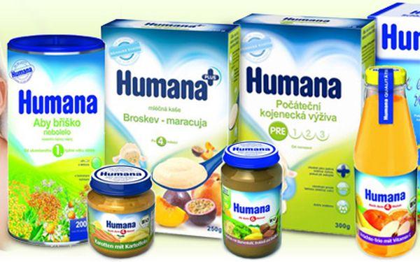 Poukaz na nákup dětské výživy v hodnotě 500 Kč