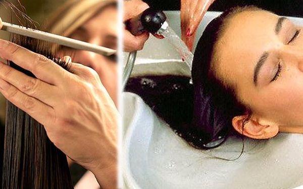 Kreativní sestřih, mytí, maska, foukaná a styling. Buďte šik s novým účesem a zdravými vlasy!