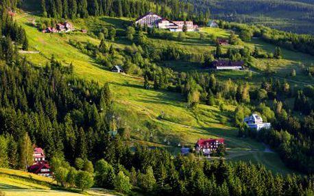 3denní romantika na horách pro dva! Polopenze, odpočinek a výlety na horách s celou rodinou!