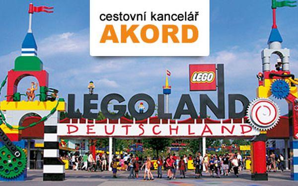 Splňte si dětský sen! Poznejte Legoland během jednodenního zájezdu 28. 9. 2012 za báječných 1290 Kč s HyperSlevou 44 % a obdivujte nádherné stavby z Lega!