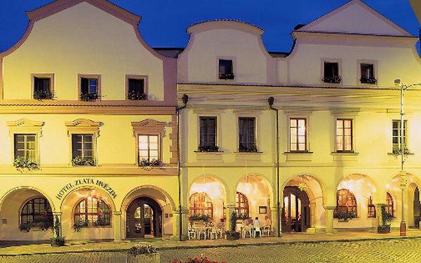 Lázeňský wellness pro 2 osoby ve ****Hotelu Zlatá hvězda v Třeboni