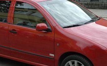 PROFESIONÁLNÍ TÓNOVÁNÍ AUTOSKEL (sedan, kupé) celého auta homologovanými autofóliemi