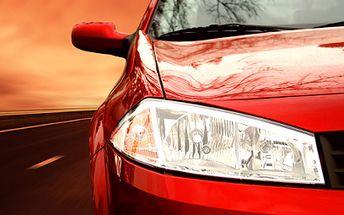 Mytí auta od 699 Kč! Na výběr tři nadupané mycí programy!