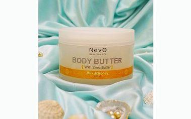 Cenová bomba! Pouhých 190 Kč za tělové máslo Dead Sea Spa Body Butter od známé značky NevO, se slevou 73% a osobním odběrem ZDARMA! Navíc DÁREK skleněný pilník na nehty!
