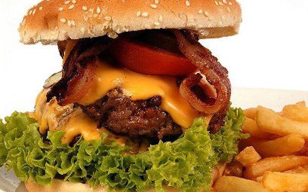 Burger za 90 Kč nebo Bejzment Kombo za 209 Kč! Jedna z TOP 5 burgráren v ČR!