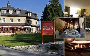 3 - denní romantický wellness pobyt pro dva s polopenzí v Golf hotel Morris****!