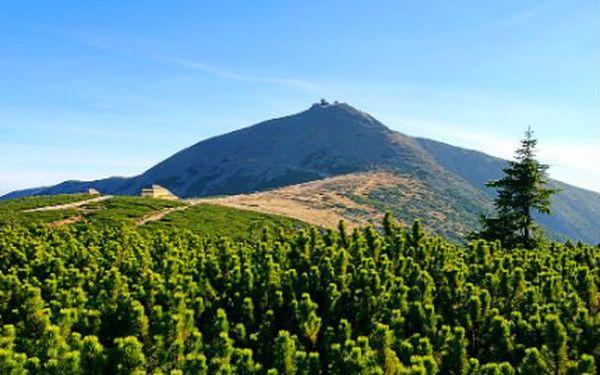 Úžasný pobyt v Krkonoších! Polopenze, výjezd na Černou horu a vstup do relax centra!