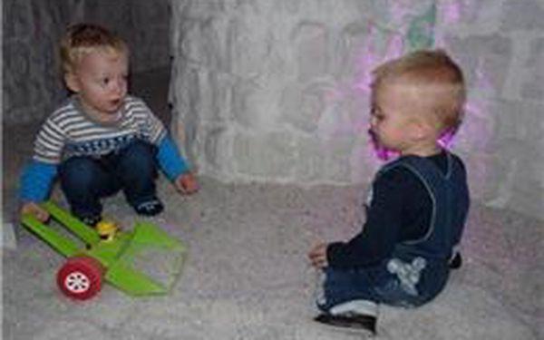 Oblíbená babyfriendly solná jeskyně na Praze 8 nabízí kvalitní služby, přátelské zázemí se slevou 50%! Platnost voucheru až do poloviny listopadu
