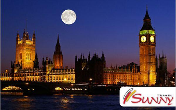 Pětidenní poznávací zájezd do Londýna. 20.9. – 24.9.2012. Jen za 5990 Kč!