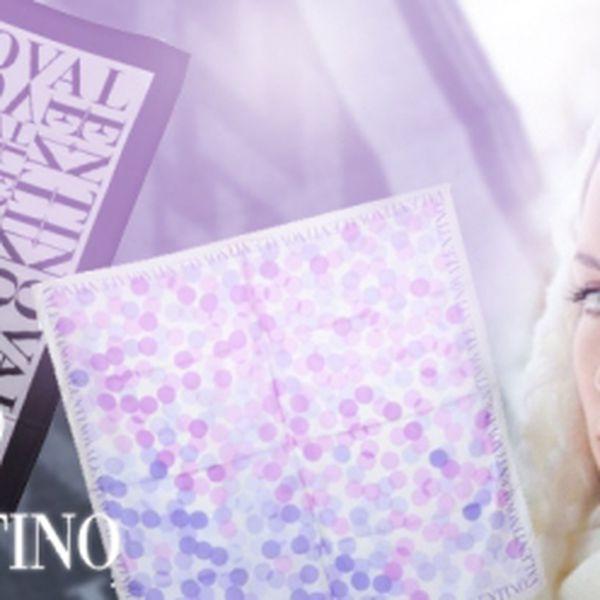 Kvalitní ŠÁTKY a ŠÁLY značky VALENTINO se slevou! Vyberte si z nabídky 3 různých šátků 90x90 cm a 3 různých šálů 38x180 cm již od úžasných 1559 Kč!