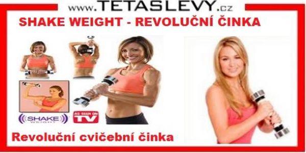 Jedinečná činka Shake Weight je nový a revoluční způsob cvičení doma za 330kč poštovné je zdarma