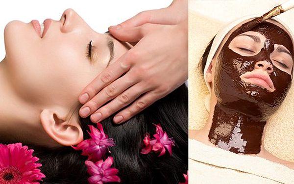 149 Kč za masáž obličeje, peeling a voňavou čokoládovou masku. Dopřejte si chvíli pro sebe - budete se lépe cítit i vypadat!