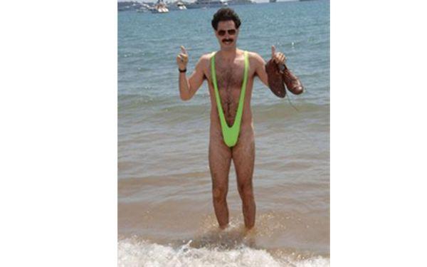 Oficiální patentované Borat plavky. Pouze na Slevovinách za neuvěřitelných 299 kč!!
