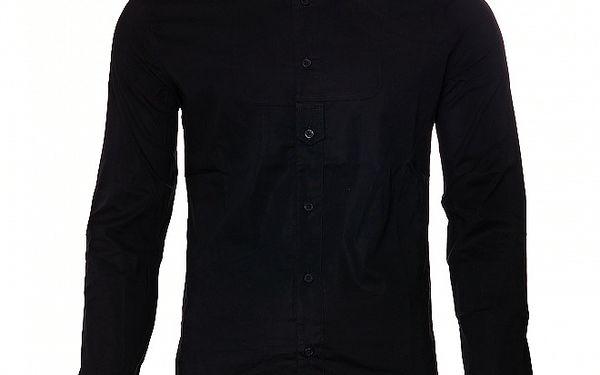 Pánská černá sportovní košile Free Wave