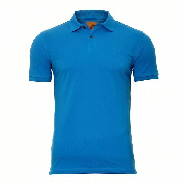 Pánské azurově modré polo Bendorff