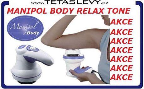 Manipol Body Relax promasíruje a procvičí celé vaše tělo za 340kč poštovné je zdarma