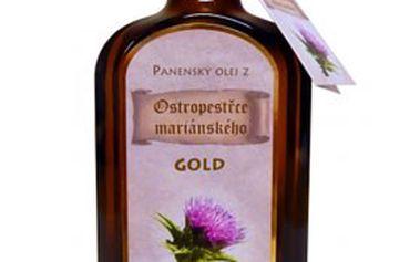 OSTROPESTŘECOVÝ olej GOLD nebo BIO – obsah 200 ml! Přírodní doplněk stravy s obsahem OMEGA 6 a VITAMÍNU E pro vaše zdraví a krásu