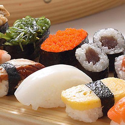 Výtečné sushi menu až pro 3 osoby v Umami