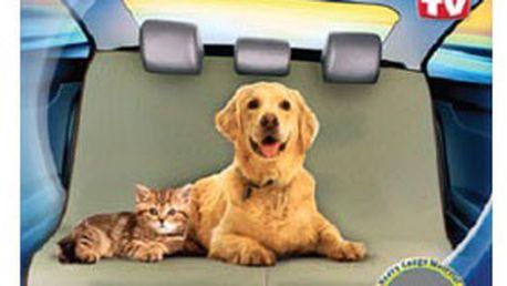 PetZoom Loungee – praktická DEKA pro psy a kočky. Ochrání potahy a čalounění automobilu proti zápachu, chlupům a škrábancům